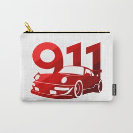 Porsche 911 - classic red - Carry-All Pouch