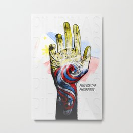 Surviving Haiyan Metal Print