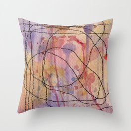 Threaded Beauty Throw Pillow