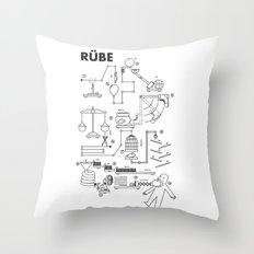 Rube Throw Pillow