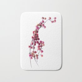 pink pepper Bath Mat