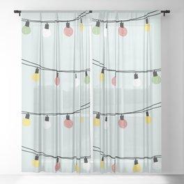 Fiesta and Lampions Sheer Curtain