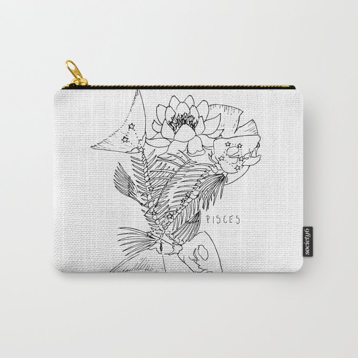 // Pisces Carry-All Pouch