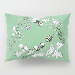 Forest Wreath Pillow Sham
