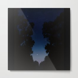 The Long Twilight Of Midsummer Nights Metal Print