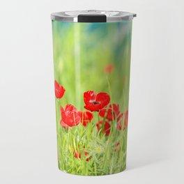 Poppies in Iraq Travel Mug