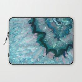 Teal Crystal Laptop Sleeve