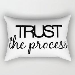 Trust The Process Rectangular Pillow