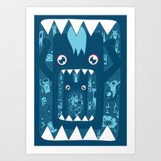 Full. Art Print