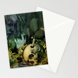 Trepanation (Skull) Stationery Cards
