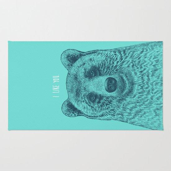 I Like You (Bear) Rug