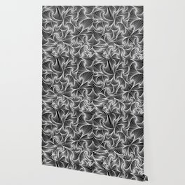 Fractal Sketch Dark Wallpaper