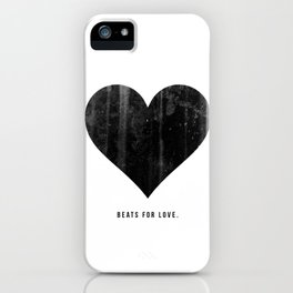 Beats for Love. iPhone Case