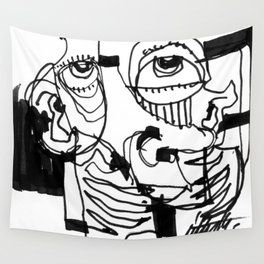 Marker Abstract Wall Tapestry
