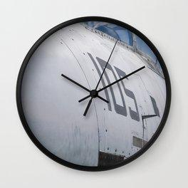 Navy Tomcat Jet Airplane Military Print Wall Clock