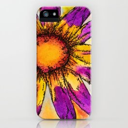 Whimsical Flower iPhone Case
