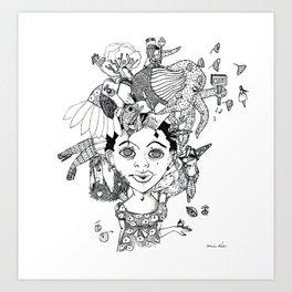 So many Wishes Art Print