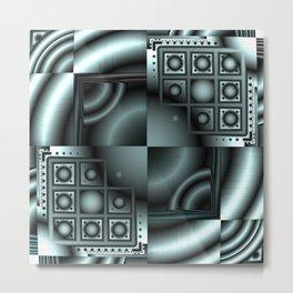 Test Pattern Metal Print