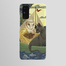 The Owl and the Pussycat Android Case