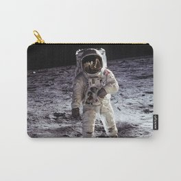 Buzz Aldrin on the Moon Carry-All Pouch