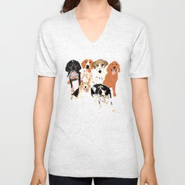 Coonhound Gang Unisex V-Neck