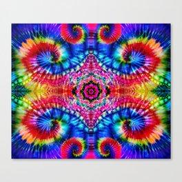 Tie-Dye Psychedelic Canvas Print