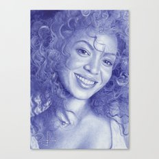 Knowles-Carter Canvas Print