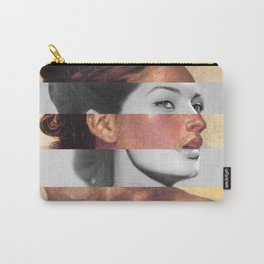 Delacroix's Orphan Girl at the Cemetery & Sophia Loren Carry-All Pouch