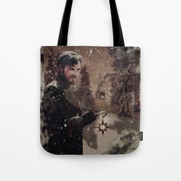 Christmas / Captain Hook Tote Bag