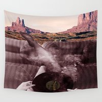 road Wall Tapestries featuring Road  by Lauren Epifanio