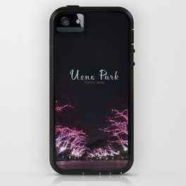 Night view in Ueno Park iPhone Case