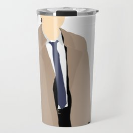 Castiel - Misha Collins - Supernatural - Minimalist design Travel Mug