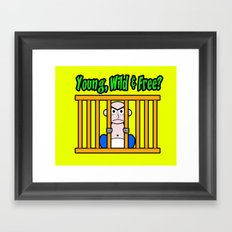 Young, Wild & Free? Framed Art Print