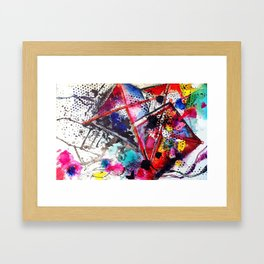 A Windy Day  Framed Art Print