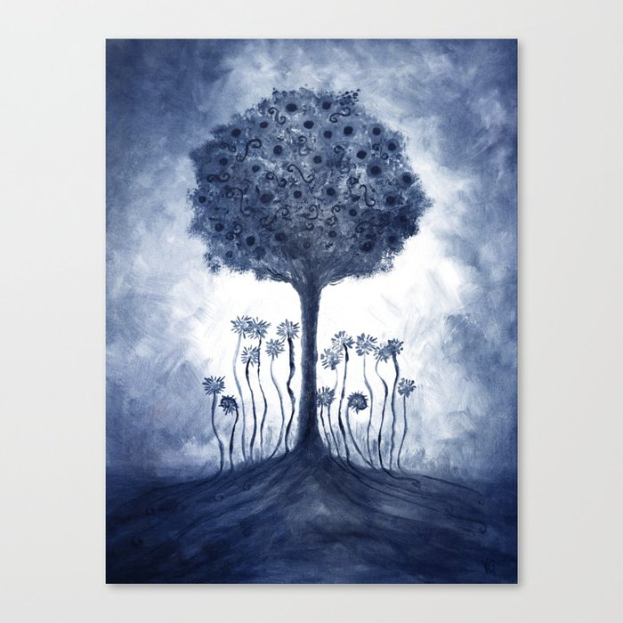 Energy from the tree Canvas Print