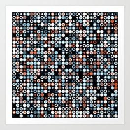 Playful Dots 1 Art Print