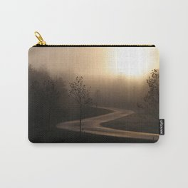 The long and winding misty and moody road Carry-All Pouch