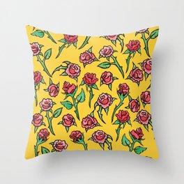 Roses Rose Gardner Throw Pillow