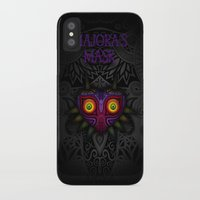 majoras mask iPhone & iPod Cases featuring Majora's Mask by Art & Be