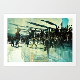 Shibuya Crossing (1) Art Print