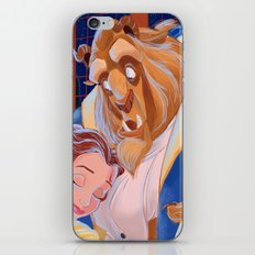 TALE AS OLD AS TIME- Beauty And The Beast iPhone & iPod Skin