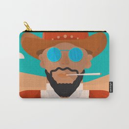 Django unchained, alternative movie poster, american western, minimalist movie poster Carry-All Pouch