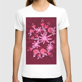 Cranberry Nocturne Rose T-shirt