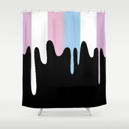 Intersex Slime Shower Curtain