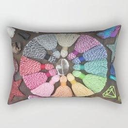 Rainbow Bakers Twine Rectangular Pillow