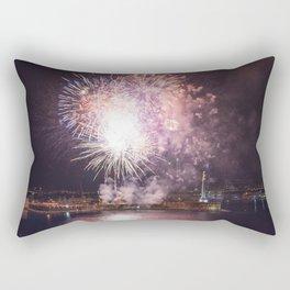 Fireworks of August 15th Rectangular Pillow