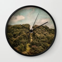 Uphill Climb Wall Clock