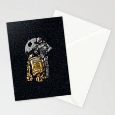 Daft Droids Stationery Cards