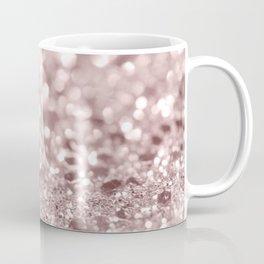Sparkling Rose Gold Blush Glitter #1 #shiny #decor #art #society6 Coffee Mug
