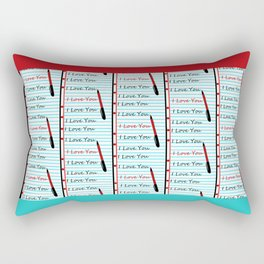 Composition Crush Rectangular Pillow